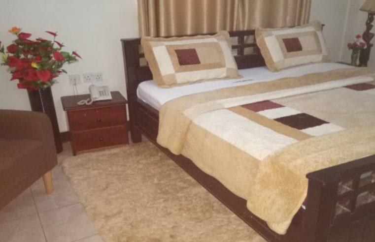 omfort hotel comfortable king bed